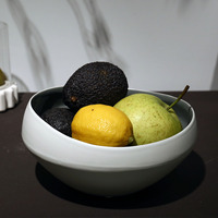 Fornasetti Decoration Crafts Ceramic tableware Fruit Bowl Salad Bowl Decorative Plate for Fruit Salad Modern Design as a gift