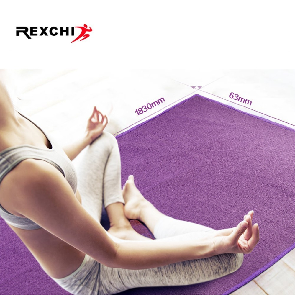Non Slip Yoga Mat Cover Towel Anti Skid Microfiber Blanket