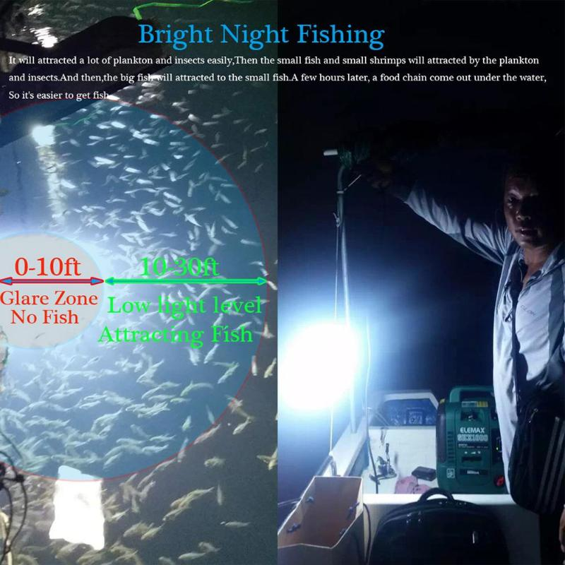 12V 50W Fishing Light 5630 LED Underwater Lure Fish Finder Lamp for Prawn Squid Fish Finder Lamp for Prawn Squid Krill12V 50W Fishing Light 5630 LED Underwater Lure Fish Finder Lamp for Prawn Squid Fish Finder Lamp for Prawn Squid Krill