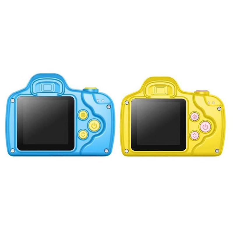1.5 pouces DSLR Mini caméra HD Portable appareil photo numérique pour enfants bébé mignon dessin animé multifonction jouet appareil photo enfants meilleur cadeau