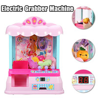 Catcher Coin Operated Game Machine Kids Candy Grabber ABS Plastic Electric Claw Machine Crane Token Home Toys With Coins Toys
