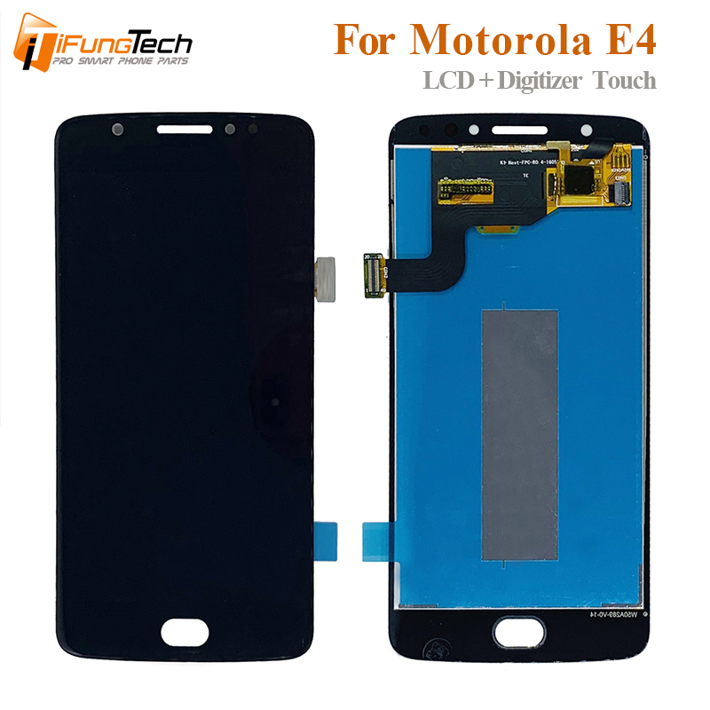 For Motorola Moto E4 <font><b>XT1762</b></font> XT1772 <font><b>Lcd</b></font> Display Touch Screen Digitizer Assembly 5.0 inch Panel Mobile <font><b>Lcd</b></font> Replacement image