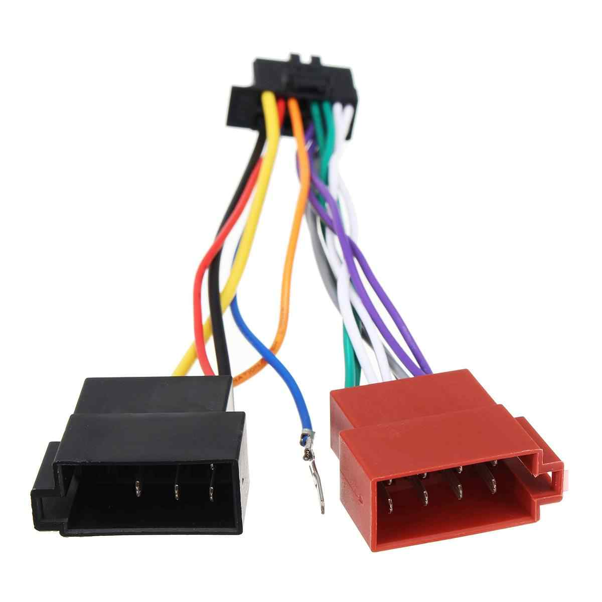 hight resolution of  16 pin car stereo radio player iso wiring harness connector for pioneer 2003 on