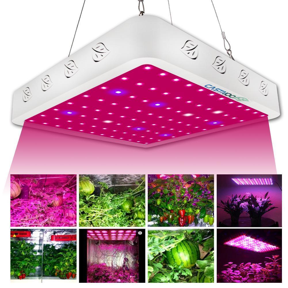 800W Full Spectrum LED Grow Light Kit For Medical Plants Veg Bloom Indoor