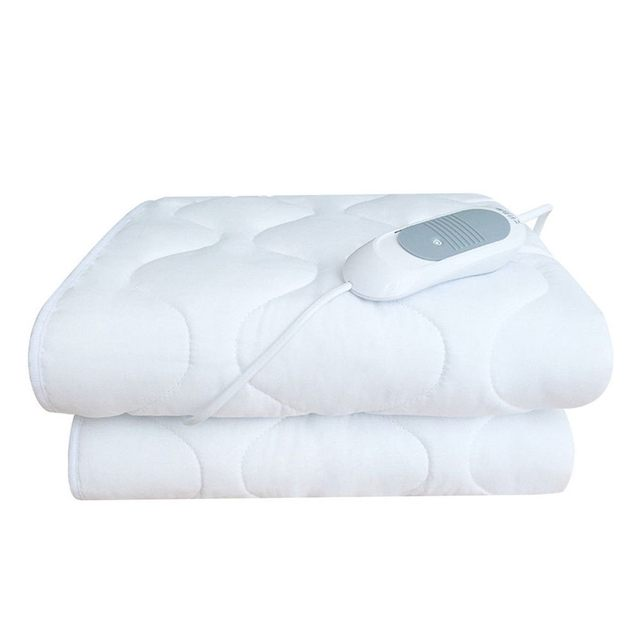 Electric Blanket Heating Pads Throw Over Under Bed Car  5