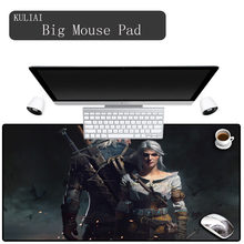 XGZ The Witcher 3 Large Mouse Pad Office Games Desk Mats Gamer Horde Player Rainbow Six Siege Gaming Keyboard Miku Mousepad(China)