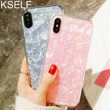KSELF Simple Bling Glitter Powder TPU Soft Silicone Cute Case for iPhone X XS MAX XR 6 6S 7 8 Plus Shockproof Protective Cover
