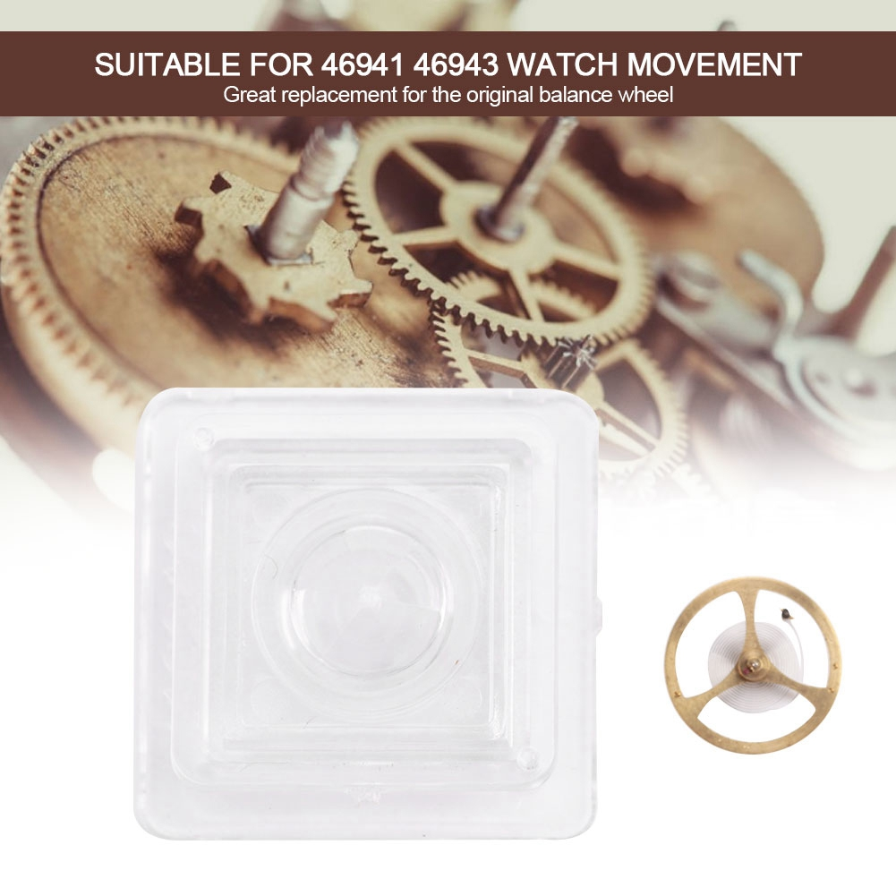 Professional Mechanical Watch Accessory Balance Wheel With Balance Spring for 46941 46943 Movement Watchmaker Watch Part Tool