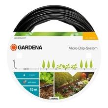 Шланг поливочный GARDENA 01362-20.000.00 (Длина 15 м, диаметр 4.6 мм (3/16), встроенные капельницы, самоочищение капельниц)