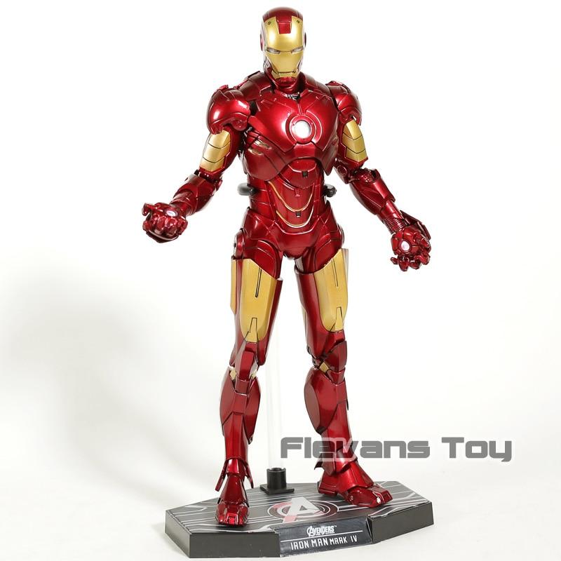 Hot Toys Iron Man MK 4 Mark IV 1/6 Scale PVC Action Figure Collectible Model ToyHot Toys Iron Man MK 4 Mark IV 1/6 Scale PVC Action Figure Collectible Model Toy