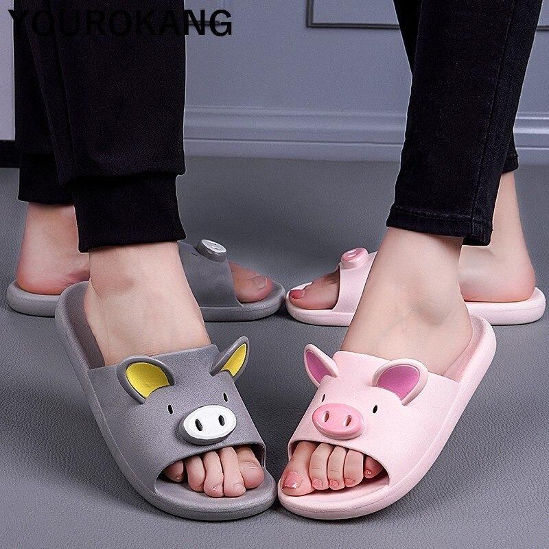 Piggy beach slippers 3