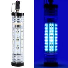 В 300 светодио дный Вт/200 Вт/светящийся поплавок Вт 12 В подводная светодиодная рыболовная приманка 140 погружная Ночная рыба привлекающая рыболовный свет рыболокаторы лампа