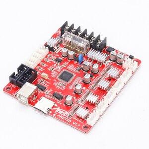 Image 3 - Anet A1284 Base V1.7 Control Board Moederbord Moederbord voor Anet A8 DIY Zelfassemblage 3D Desktop Printer Kit