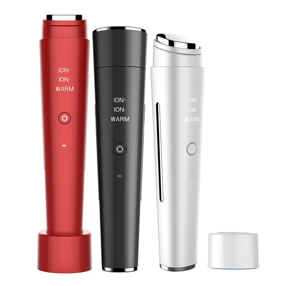 Beauté Mini appareil de Massage des yeux stylo Type électrique masseur des yeux soins du visage Vibration mince visage bâton magique Anti sac poche et rides