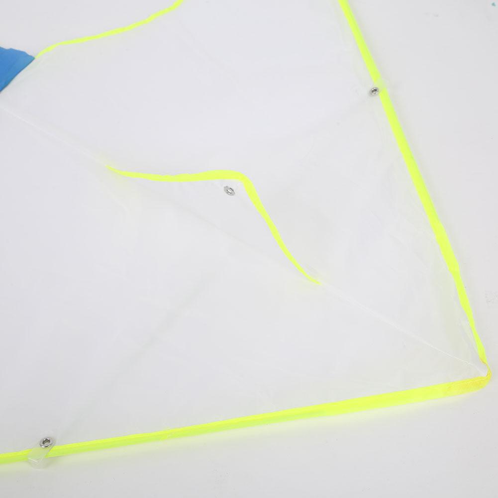 1 комплект Diy кайт пустой белый живописи кайт складная открытый пляжный змей Для детей Спорт Забавные игрушки Красочные кайт летающие игрушки