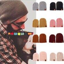 NEW Fashion Women Man Kids Hats Carochet Knitted Beanies Mom Dad Baby Warm  Winter Soft Comfy 6b47ce363eda