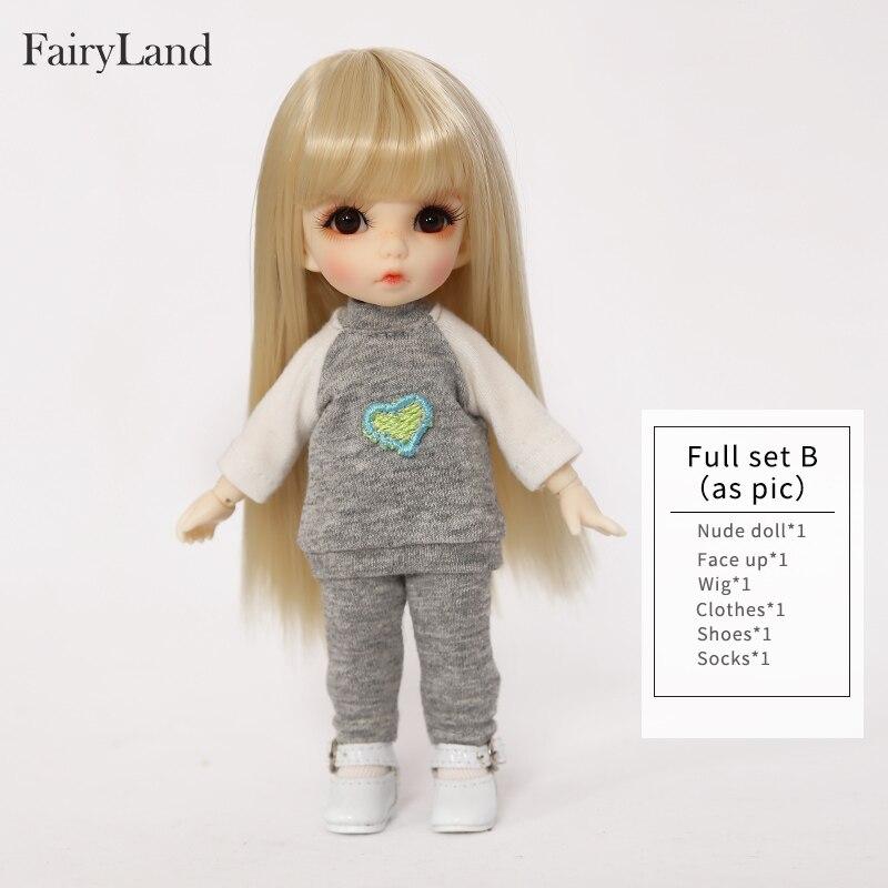 Envío gratis Fairyland Pukifee Ante 1/8 BJD muñecas figura de - Muñecas y accesorios - foto 6