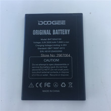 Mobile phone battery for for DOOGEE BAT16542100 battery 2000mAh Long standby time High capacity for for DOOGEE X9 mini battery matcheasy battery for doogee mix lite battery 3080mah long standby time high capacit 5 2inch doogee mobile accessories