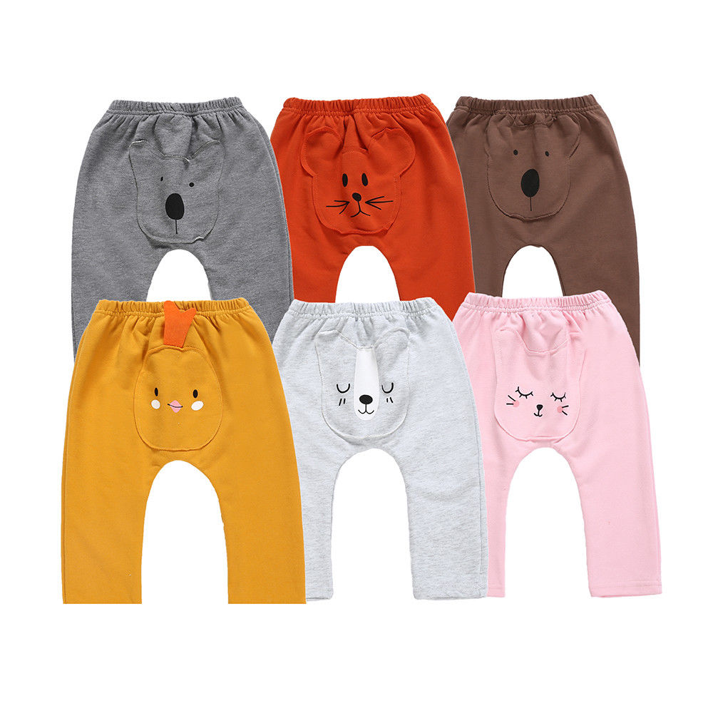 Leggings Long-Pants Newborn Trousers Bottoms Girls Kids Child Cartoon Cute Boys
