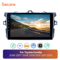Seicane Android 8.1 GPS Car Radio For Toyota Corolla 2006 2007 2008 2009 2010 2011 2012 9inch 2Din Navigation Multimedia Player