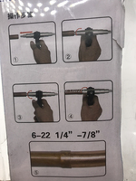 Tube expander, air conditioning copper tube flaring kit, reaming tools, Copper, iron pipe tube expanding tool