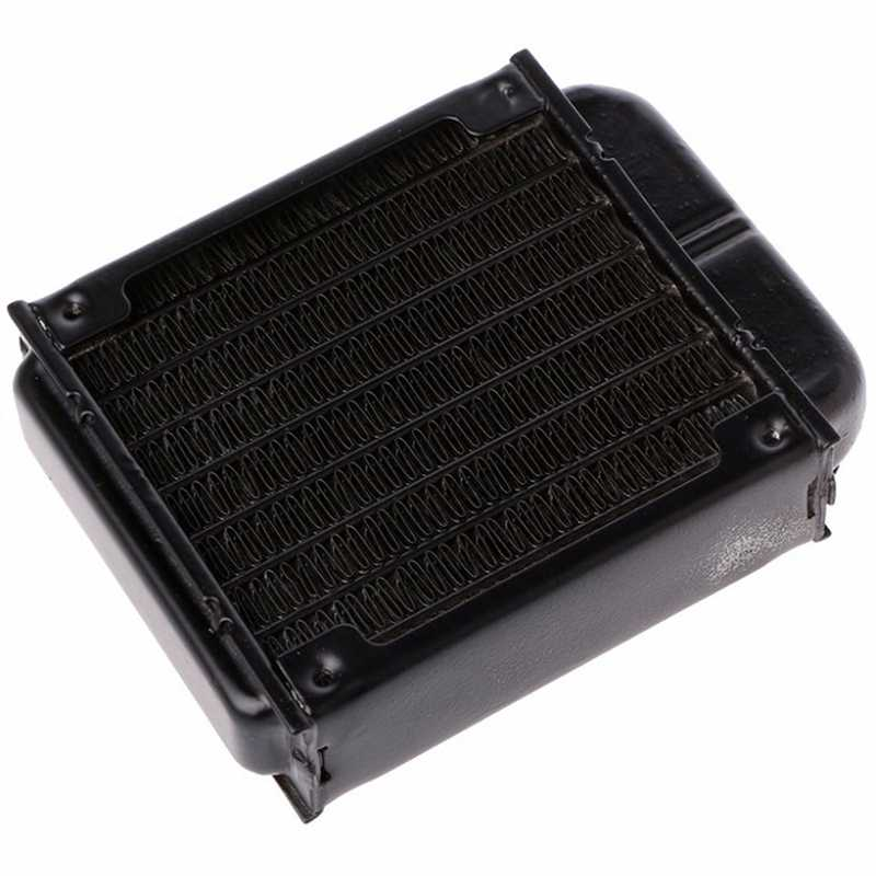 1 PC 120 Mm Aluminium Komputer Radiator Air Pendingin untuk CPU GPU VGA Ram Heatsink Exchanger Cairan Pendingin