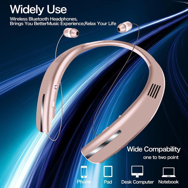 HX208 2 in 1 Headphones Speaker 3D Stereo Sound Bluetooth Earphone Wireless Outdoor Sport Headset Headphone