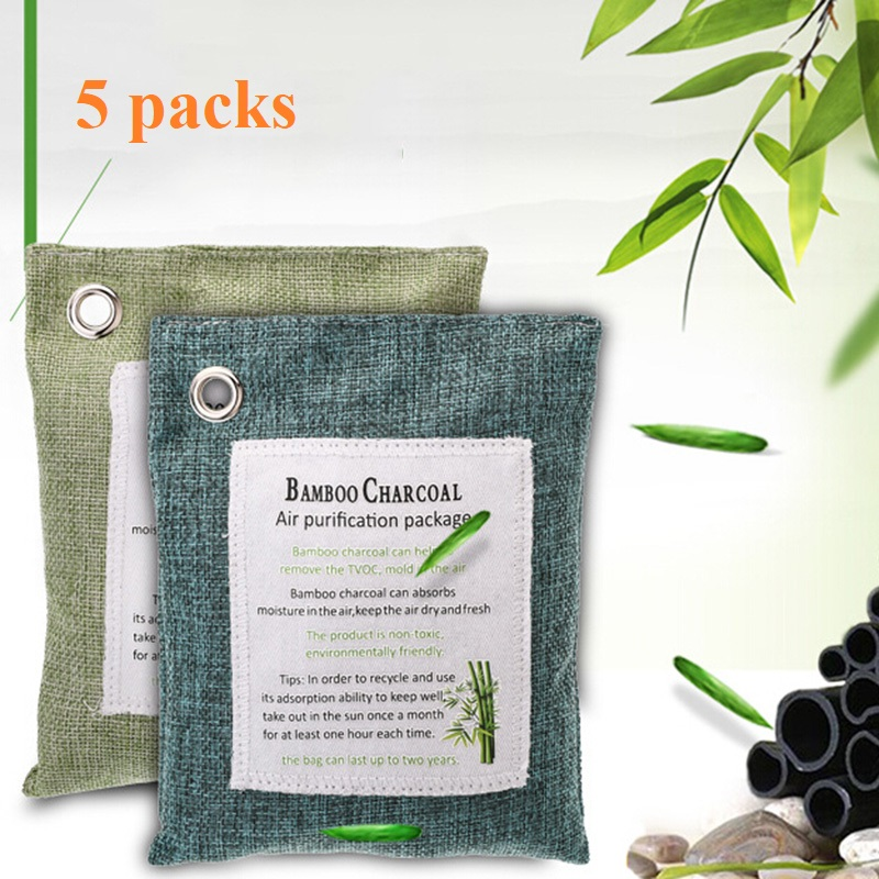 fresh nature bags charcoal purifying bathroom air bamboo wildly mold packs used bag purifier carbon