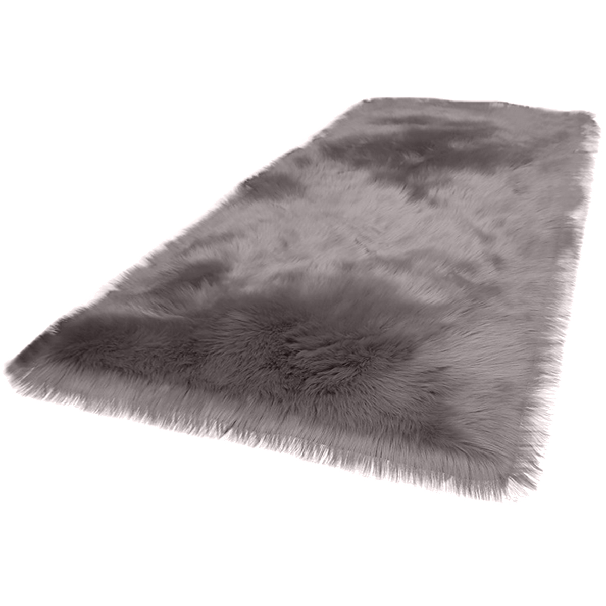 Faux Fur Rug Soft Fluffy Rug <font><b>60</b></font> x 90 cm Shaggy Rugs Faux Sheepskin Area Rugs Floor Carpets for Bedrooms Living Room Kids Rooms image