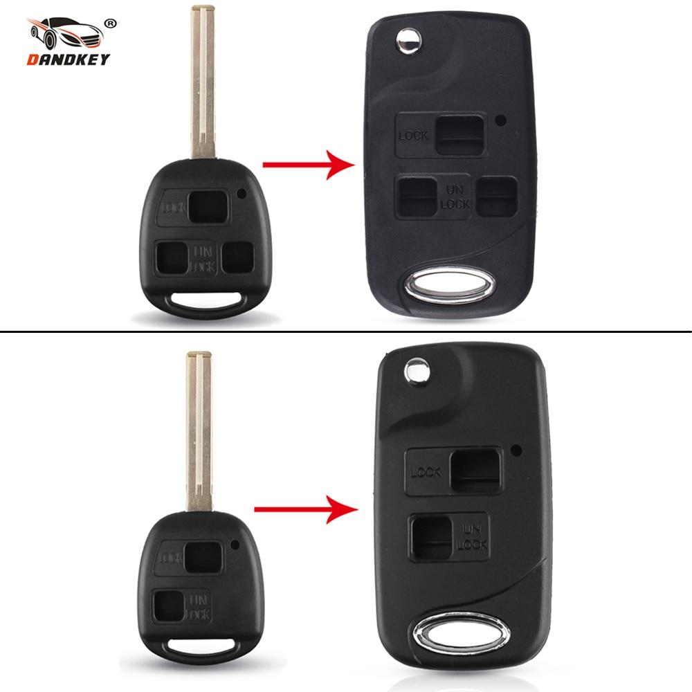 2 Car Key Remote Keyless Entry Shell Case Pad For 2006 2007 2008 Lexus RX400h