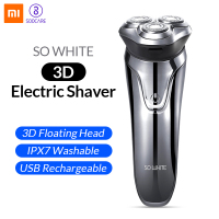 Original Soocas SO WHITE Wireless 3D Electric Razor Shaver Xiaomi Smart USB Charging IPX7 Waterproof Blocking Protection for Men