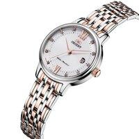 Orient кварцевые наручные часы для женщин часы нержавеющая сталь модное платье дамы подарки Relogio Feminino 4 цвета