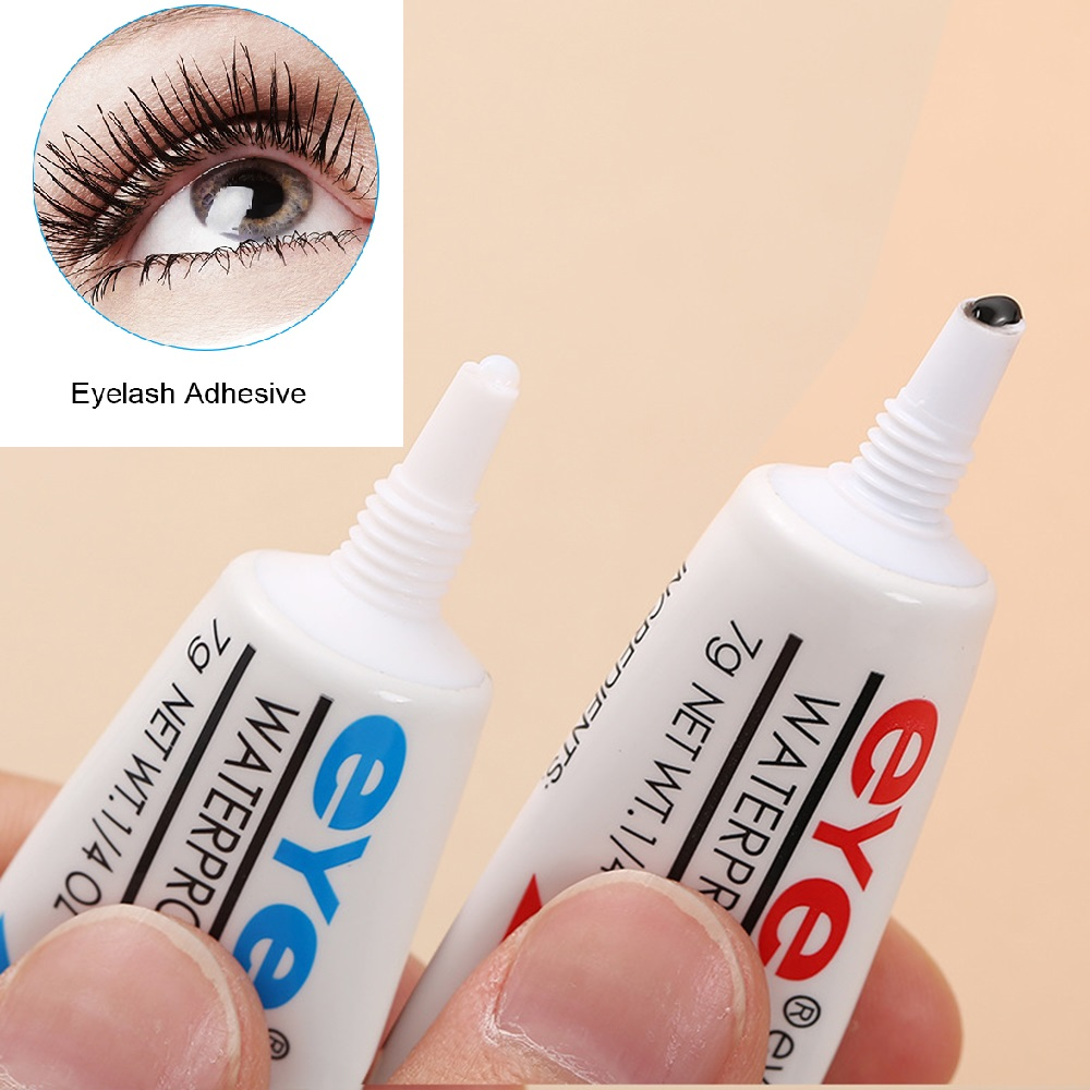 1PC 7g Clear / Black Eyelashes Glue Eyelash Extensions Adhesive Weeks Strong Waterproof Lashes Eye Lifting Makeup Tool TSLM2