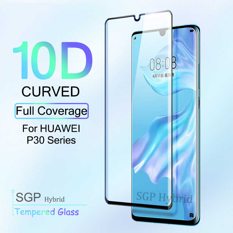 10D Curved For Huawei P30 Pro Lite Glass On The Hauwei P 30 Pro Light Tempered Glas P 30Lite P30Pro Cover Film Protective Glass