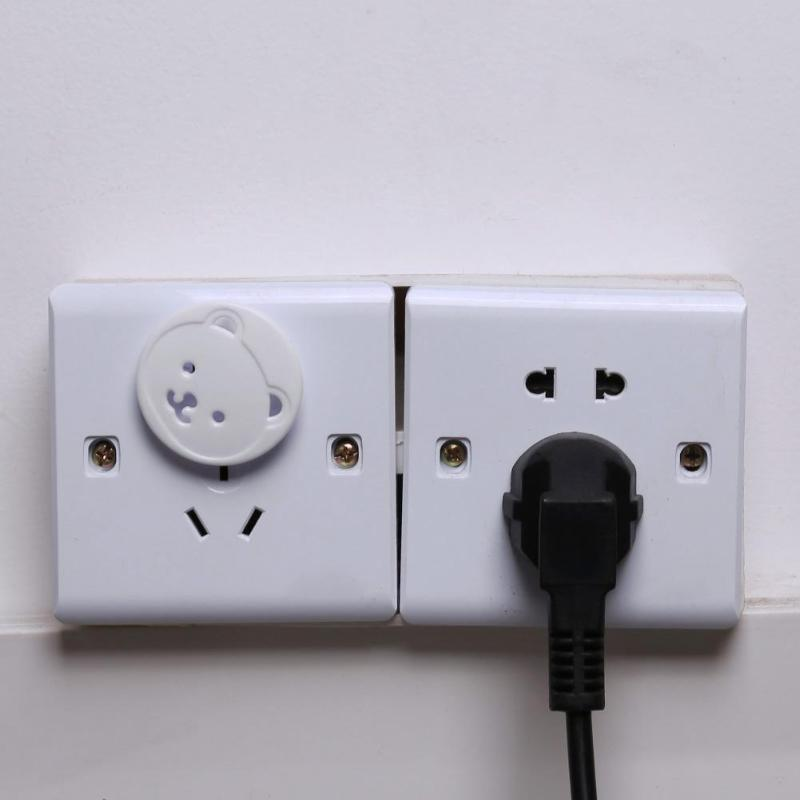 10/20pcs Safety Outlet Plug Cover Child Baby Proof Electric Shock Guard Cap