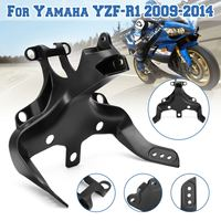 Aluminum Front Fairing Stay Bracket Mounting For Yamaha YZF R1 2009 2010 2011 2012 2013 2014 headlight fairing stay bracket