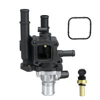 Coolant Thermostat & Housing for Chevy Aveo Aveo5 for Pontiac G3 1.6L 2009 2011 25189437,96984102,96980317,15 81766