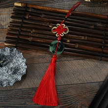 10 Pcs Polyester Chinese Knots Knotting Jade Tassel Blessing Lucky Style Gifts Curtain Dress Fringe Trim Decoration 2018