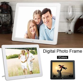 12 Inch HD 800*600 LED Digital Photo Frame LED Display Infrared Remote Control Electronic Photo Album
