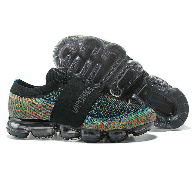 1cf2b84479618 Original Nike Air Vapormax Moc Rainbow Bandage Cushion Men s Slip-On  Running Shoes