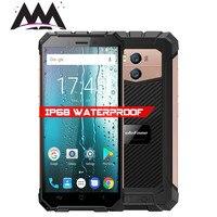 Ulefone Броня х IP68 водонепроницаемый ударопрочный мобильный телефон Android 8,1 Беспроводной Charge 5,5