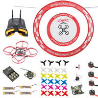 75MM Brushless Frame FPV Racer Quadcopter BNF With Crazybee F3 Pro FC FPV Goggles Arch Apron Upgraded Mobula 7 Accessory