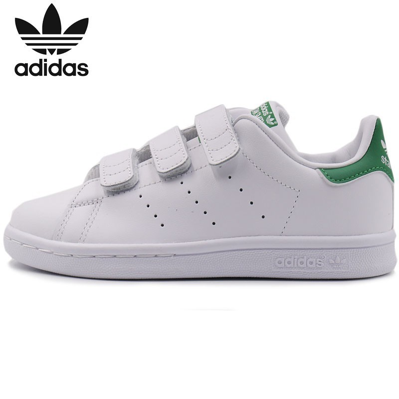 Adidas Clover Catamite KIDS Shoes 2018 Autumn Sneakers Low Help Casual Shoes M20607 adidas samoa kids casual sneakers