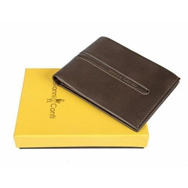Портмоне Gianni Conti 587416 dark brown-leather