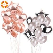 14 шт. 12 дюймов 18 дюймов много воздушных шаров С Днем Рождения Декоративные гелиевые шарики свадебный фестиваль балон вечерние принадлежности