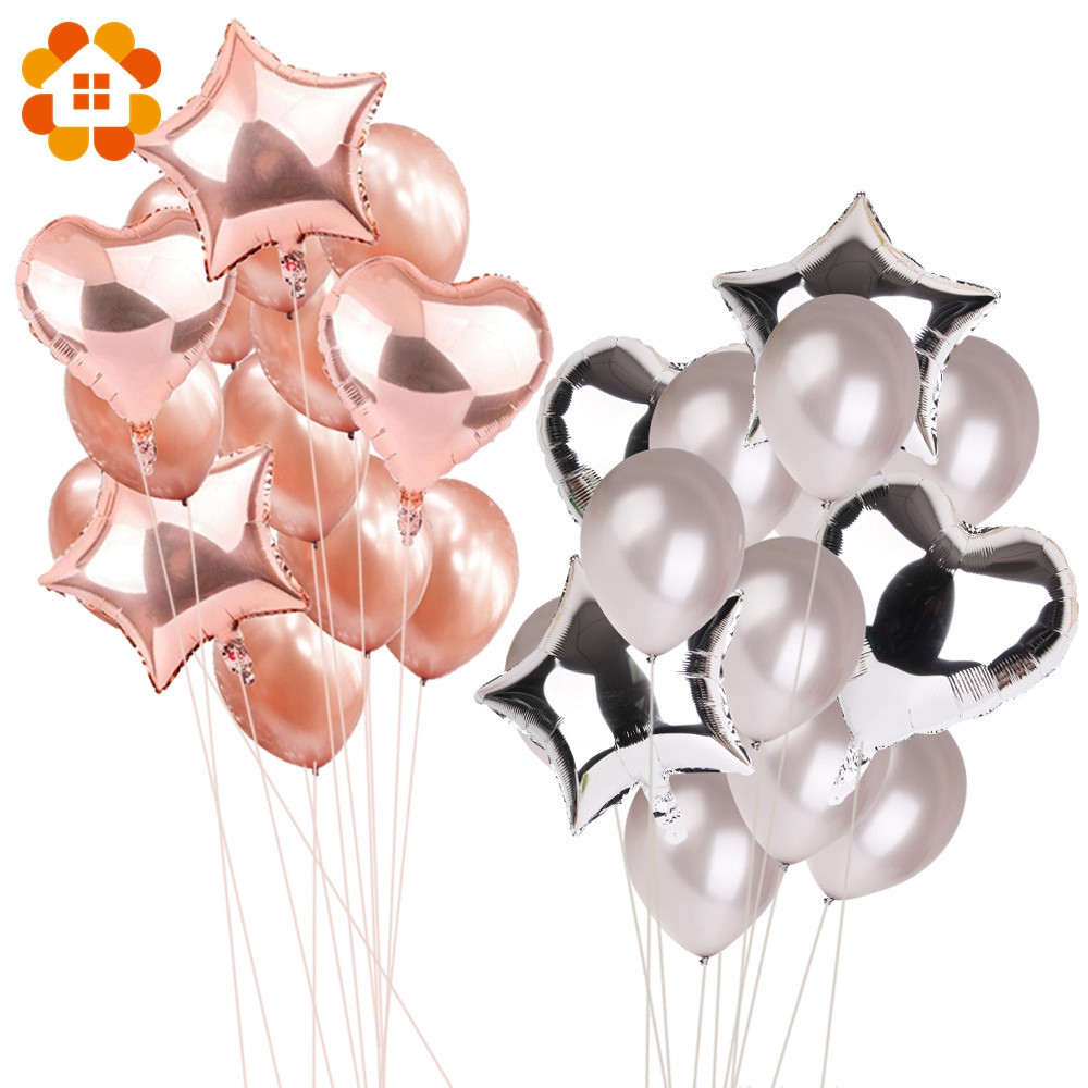 14 pçs 12 polegada 18 polegada multi balões de ar feliz aniversário festa de balão de hélio decorações festa de casamento festival balon fontes de festa