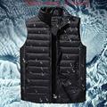 Мужская зимняя уличная куртка без рукавов с подогревом  умная USB Рабочая куртка с регулируемым контролем температуры  детская одежда DSY017