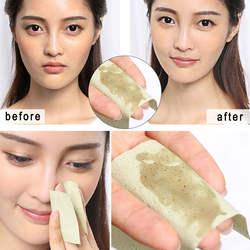 100 листов/обновления тканей Бумага s Зелёный чай запах для снятия макияжа Нефтепоглощающих лицо Бумага поглощают впитывающий для лица