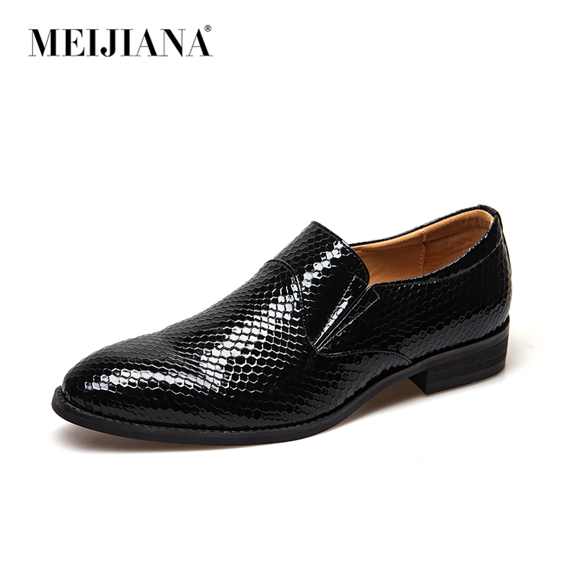 Homens Da Preto Moda Leves Masculinos 2019 Conferência Casamento Sapatos deslizamento Vestido Grife Amarrar Meijiana Não marrom De Festa XawBOqU6x
