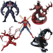 Marvel Venom Action Figure Anime The Avengers Amazing Pvc Venom Spiderman Figures Toy Collectible Action Figures One Piece Model